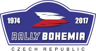 Rally Bohemia 2017 logo
